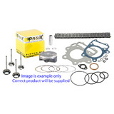 KAWASAKI KX450F STAGE 3 TOP END ENGINE PARTS REBUILD KIT 2006 - 2008