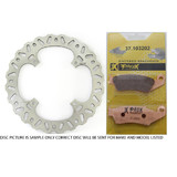 Honda CR500 1995 - 2001 ProX Front Disc & Brake Pads