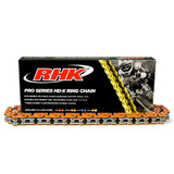 KTM144 SX RHK ORANGE X RING CHAIN 2007 - 2010