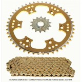 KAWASAKI KX125 RACING X RING CHAIN AND SPROCKET KIT 2002