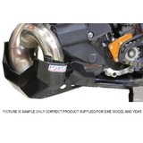 KTM300 EXC FORCE ACCESSORIES BLACK PPA BASHPLATE 2014 - WITH PIPE GUARD
