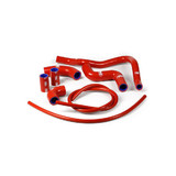 Aprilia RSV4 2009 - 2015 Samco Radiator Hose Kit Red