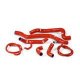 Ducati 1198 Race 2009 - 2011 Thermo Bypass Samco Radiator Hose Kit Red