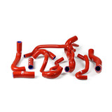 Ducati 848 Streetfighter / S 2009 - 2015 Samco Radiator Hose Kit Red