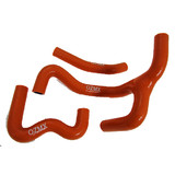 KTM 50SX 2013 - 2017 OzMX Silicone Radiator Hoses Orange