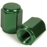 HONDA CRF450R RHK GREEN ALLOY VALVE CAPS