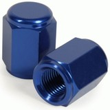 RHK BLUE ALLOY VALVE CAPS