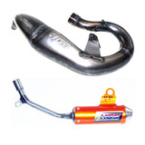 KTM50 SX 16 - 17 HGS Exhaust Pipe Stnd & Orange Muffler MX Part