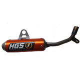 KTM50 SX 2016 - 2017 HGS Exhaust Muffler Orange MX Parts