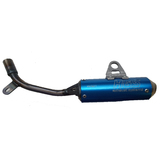 KTM50 SX 2016 HGS Exhaust Muffler Blue MX Parts