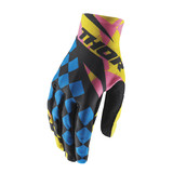 THOR 2017 SPRING PULSE LOUDA YELLOW/PINK GLOVES