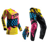 THOR 2017 SPRING PULSE LOUDA YELLOW/PINK GEAR SET
