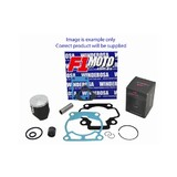Honda CR125 Vertex Piston Winderosa gasket Top End Rebuild Kit 2004