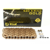 for KTM144 SX 2007 - 2010 RHK Gold X Ring Chain