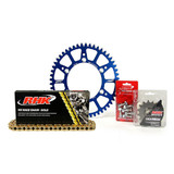 Yamaha WR450F 2001 - 2017 RHK MX Chain & Alloy Sprocket Kit