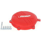 Honda CRF450 R 2009 - 2016 RHK Clutch Cover Protector Red