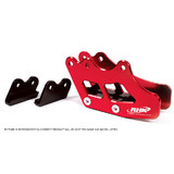 Honda CR250 1990 - 2004 RHK Pro Rear Chain Guide Red MX Bling Parts