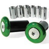 RHK Pro Billet Green Bar Ends MX Bling Bike Parts