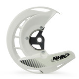 Honda CRF250 X 2004 - 2017 RHK Front Disc Guard White