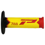 ProGrip 788 Extra Slim MX Grips Yellow / Red