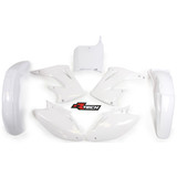 Honda CR125 2002 - 2003 RTECH White Replica Plastic Kit