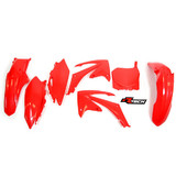 Honda CRF250 R 2010 - 2013 RTECH Red Replica Plastic Kit
