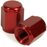 KTM85 SX RHK RED ALLOY VALVE CAPS 2002 - 2017